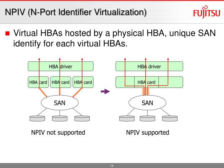 NPIV (N-Port Identifier Virtualization)