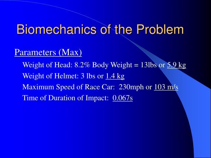 Biomechanics of the Problem