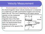 velocity measurement