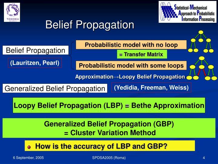 Probabilistic model with no loop