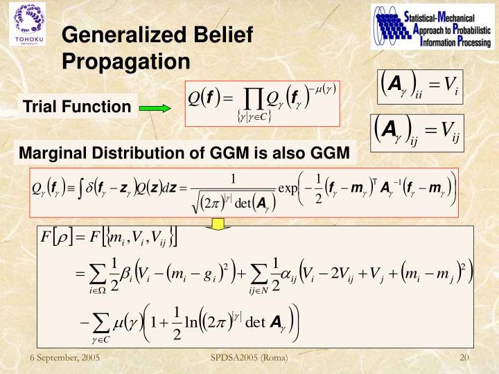 Generalized Belief Propagation