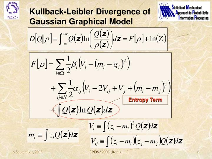 Kullback-Leibler Divergence of Gaussian Graphical Model