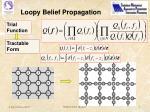 loopy belief propagation