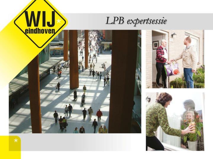 LPB expertsessie
