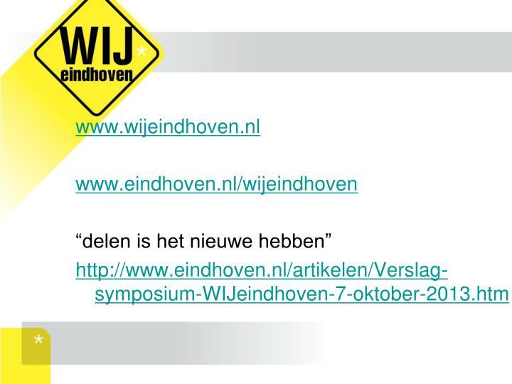 www.wijeindhoven.nl