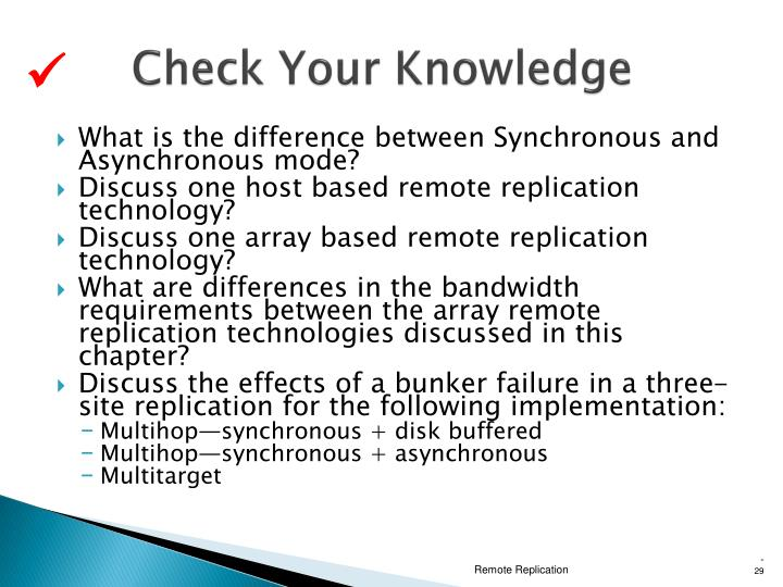 Check Your Knowledge