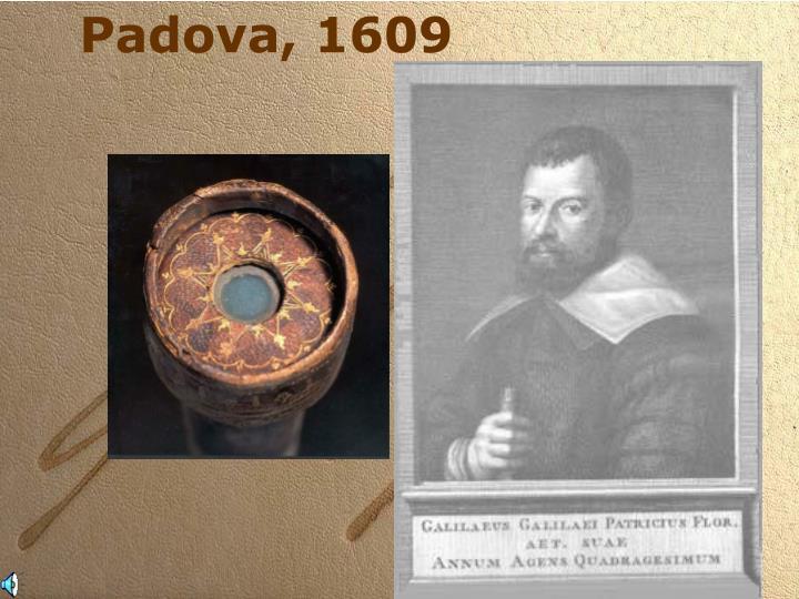 Padova, 1609