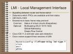 lmi local management interface
