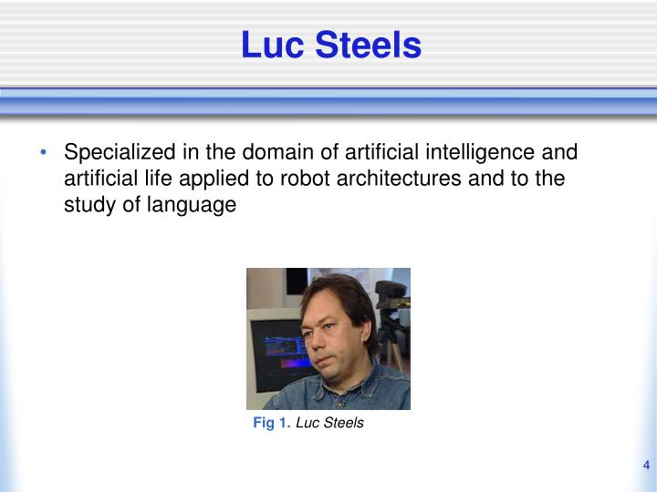 Luc Steels
