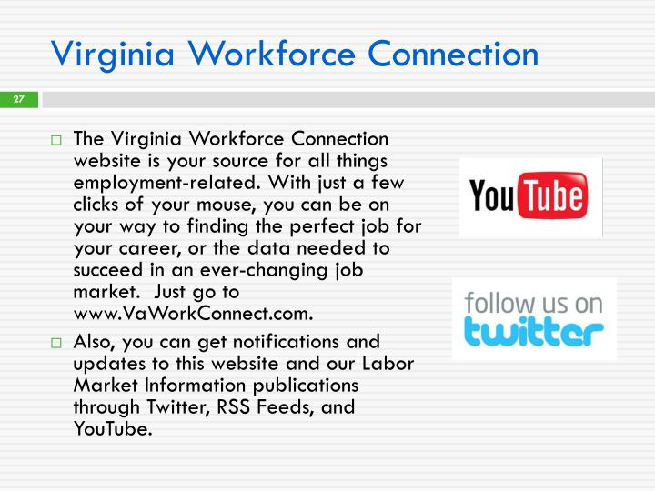 Virginia Workforce Connection