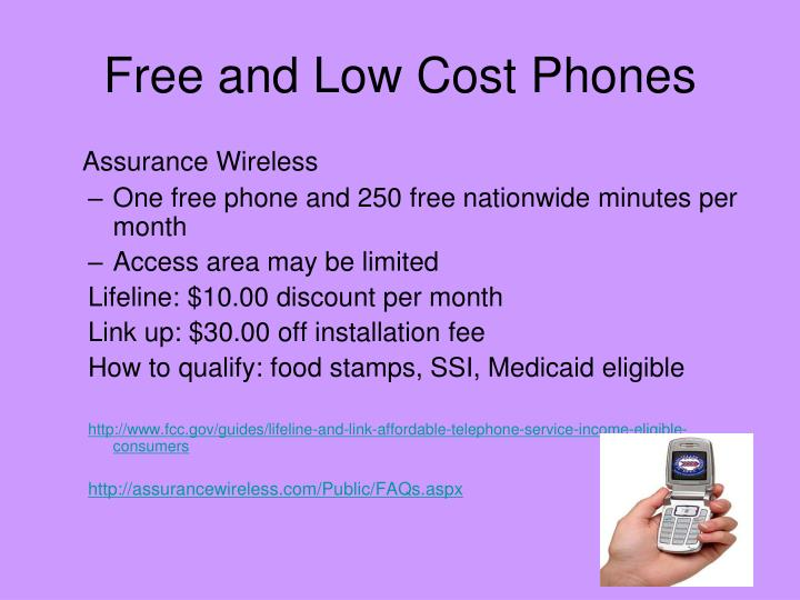 Free and Low Cost Phones