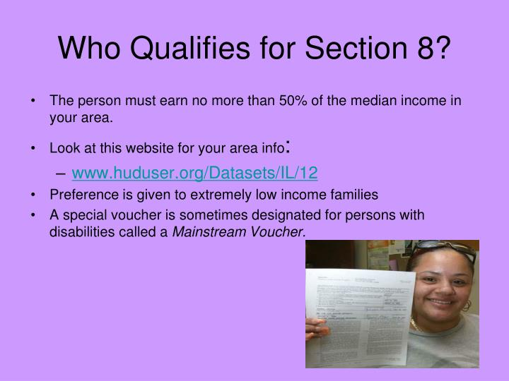 Who Qualifies for Section 8?