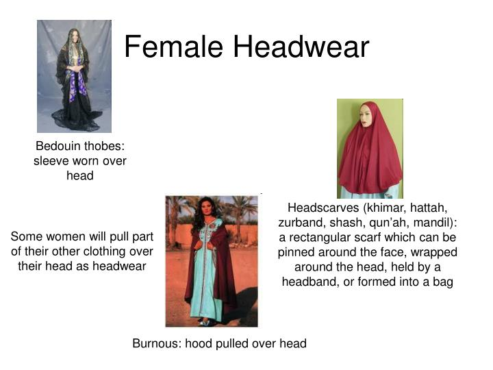 Female Headwear