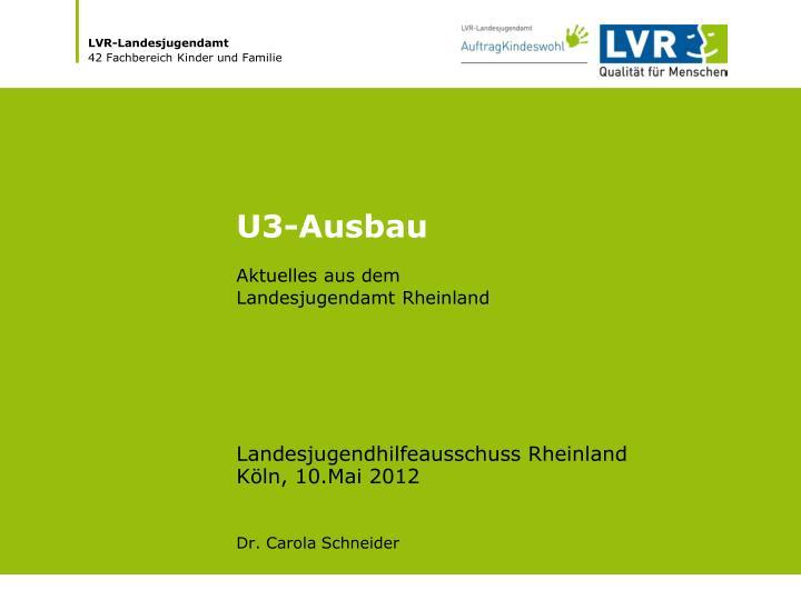 U3-Ausbau