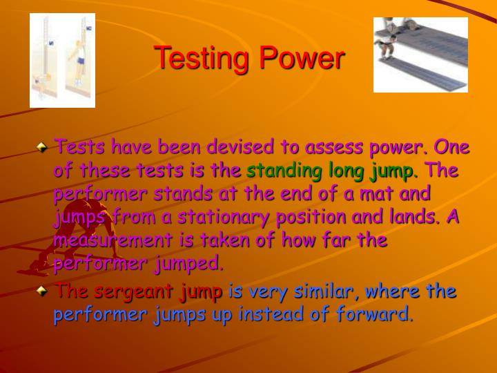 Testing Power