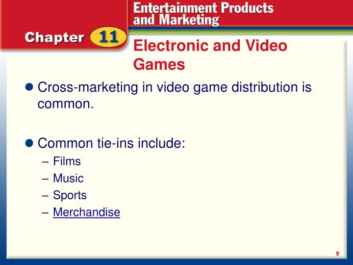 Electronic and Video Games