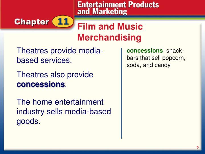 Film and Music Merchandising