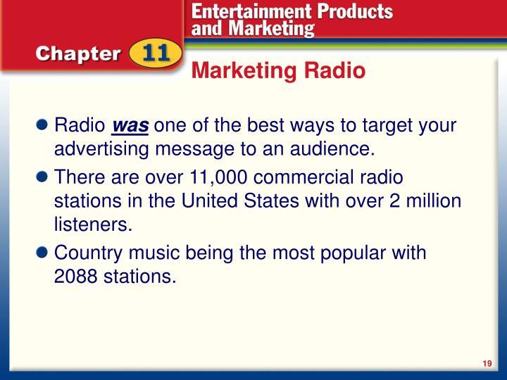 Marketing Radio