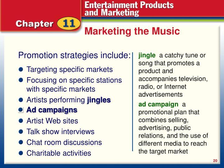 Marketing the Music