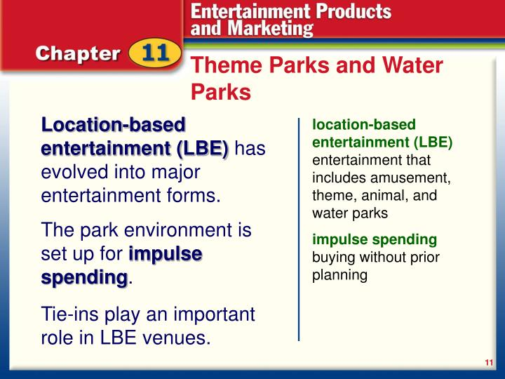 Theme Parks and Water Parks
