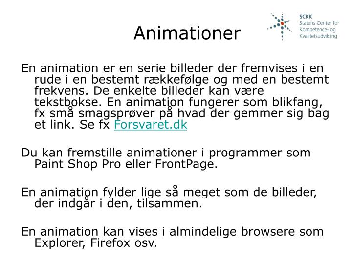 Animationer