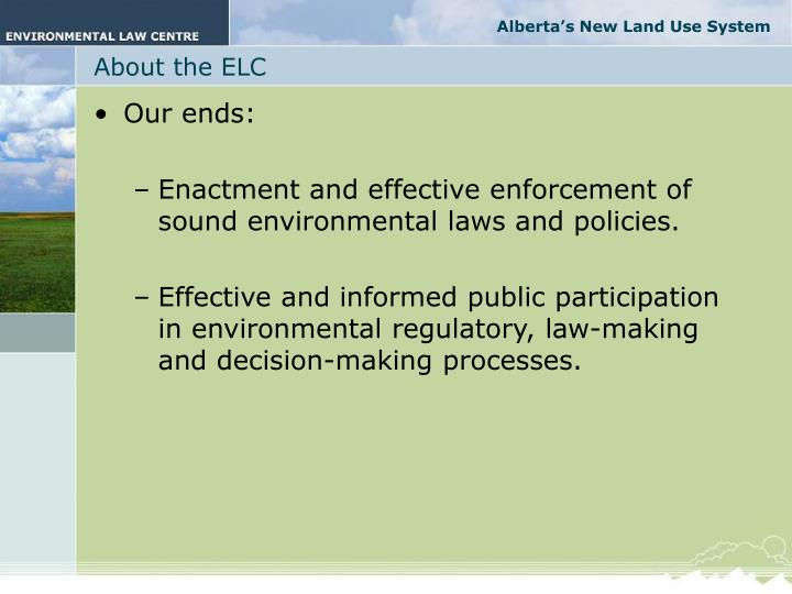 About the elc1
