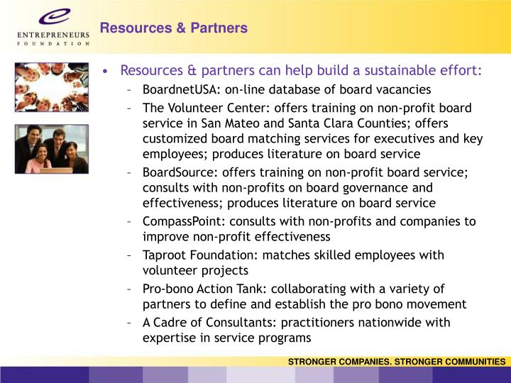 Resources & Partners