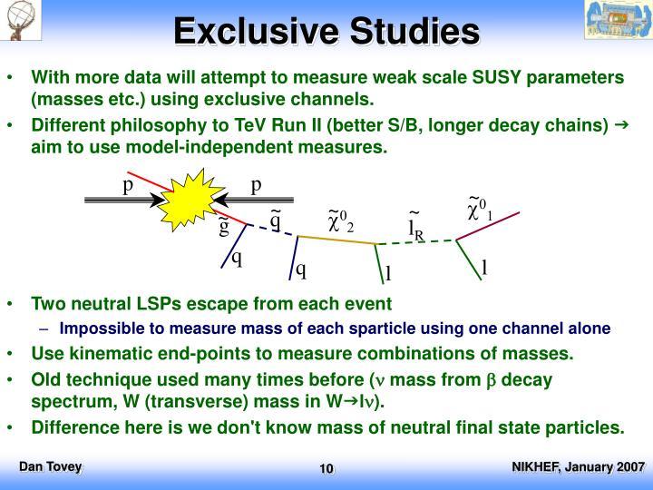 Exclusive Studies