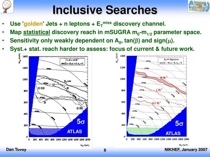 Inclusive Searches