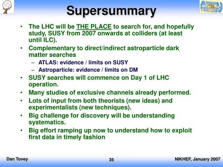 Supersummary