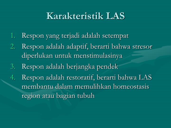 Karakteristik LAS