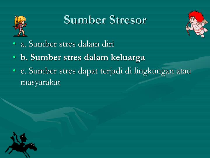 Sumber Stresor