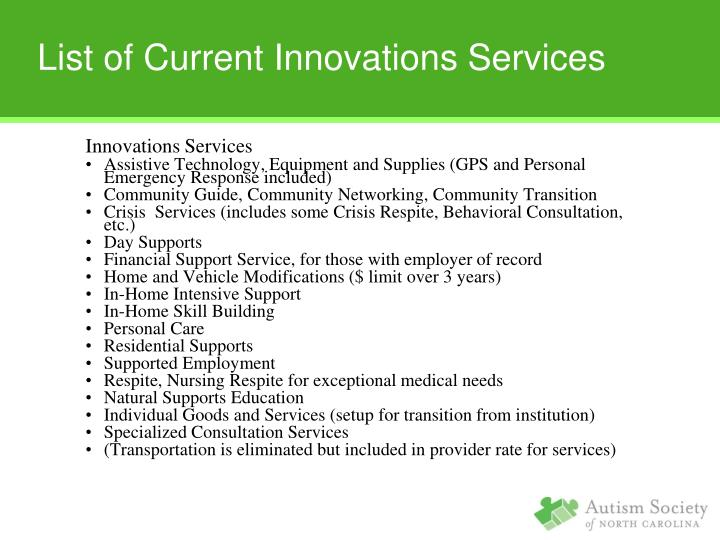 Innovations Services