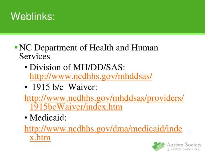 Weblinks: