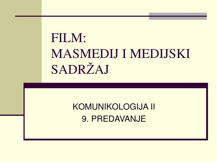FILM: