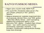 razvoj flmskog medija