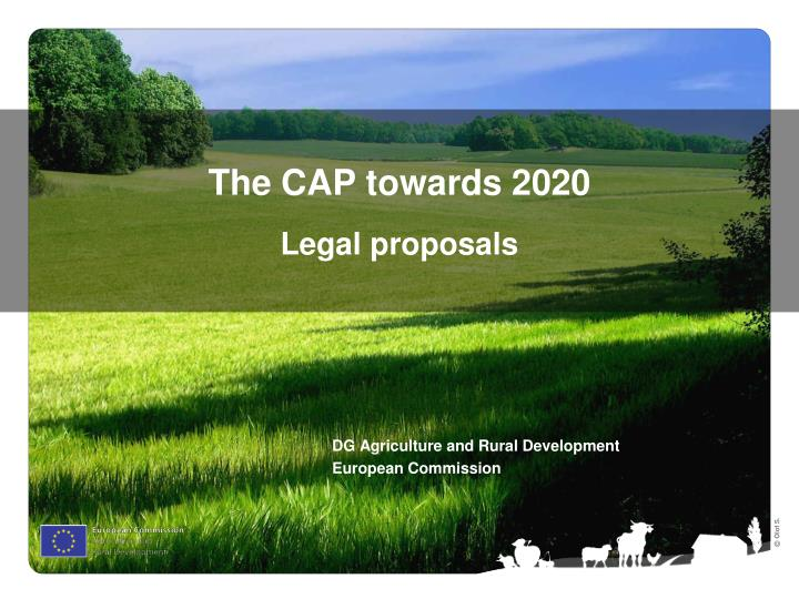 The CAP towards 2020