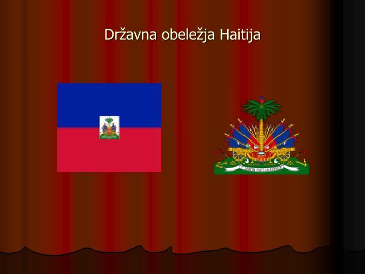 Državna obeležja Haitija