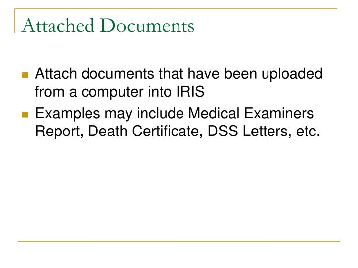 Attached Documents
