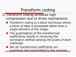 transform coding2