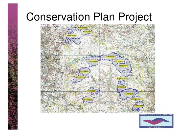 Conservation Plan Project
