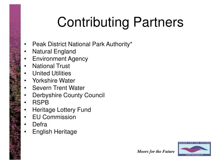 Contributing Partners