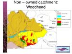 non owned catchment woodhead