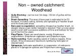 non owned catchment woodhead1