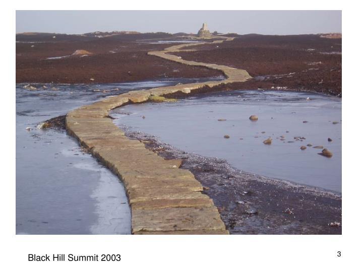 Black Hill Summit 2003