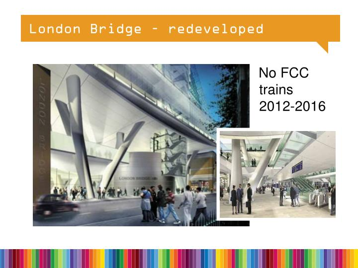 London Bridge – redeveloped