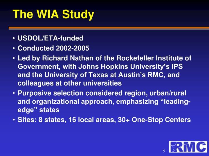 The WIA Study