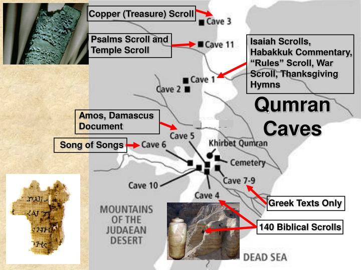 Copper (Treasure) Scroll