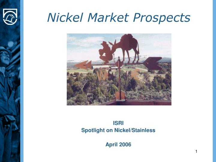 Nickel market prospects