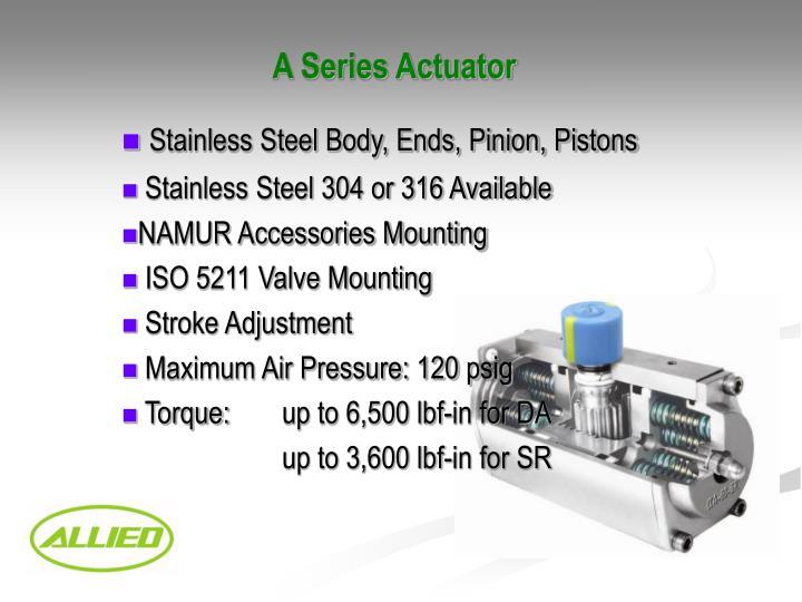 A Series Actuator